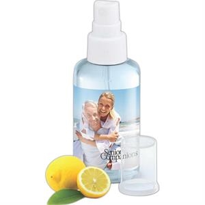 Citrus Scented Hand Sanitizing Spray, 2 Oz. In A Convenient Travel Sized Container