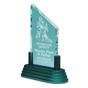 "Peak Award With Optional Pedestal Base, W 3"" X 7"""