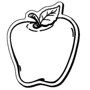 Apple Stock Shape Magnet