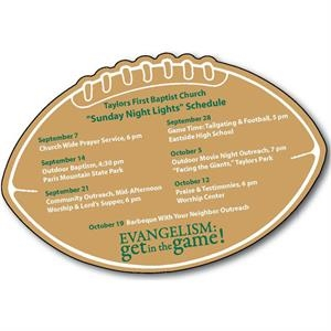 Football Shaped Magnetic Sked