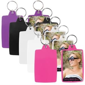 "Snap-in Key Tag, Insert Size 1 3/4"" X 2 3/4"""