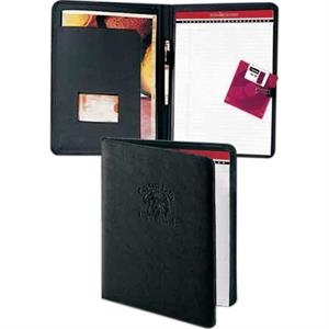 Classic Valueplus - Non Zippered Pad Folio With Flap Pocket And Reinforced Spine Trim