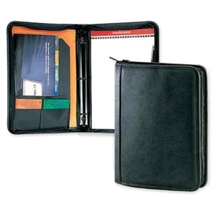Classic Valueplus - Three Ring Binder Portfolio With Zippered Closure