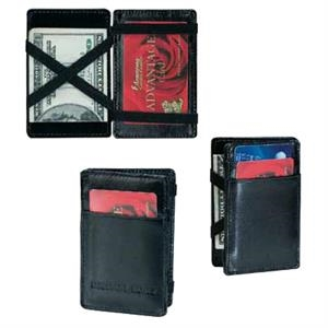 Atlantis - Magic Wallet Card Case, Made Of Bonded Leather