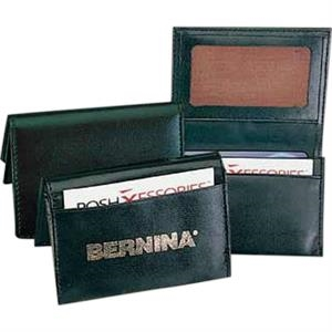 Pro Business - Pu Leather Business Card Holder With 4 Pockets To Hold More Than 40 Cards