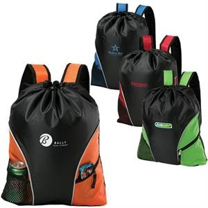 Cyclone - Cinch/backpack Made Of 210 Denier Polyester