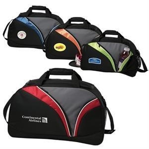Visions(r) - Sport Duffel Made Of 600 Denier Polyester With 420 Denier Dobby