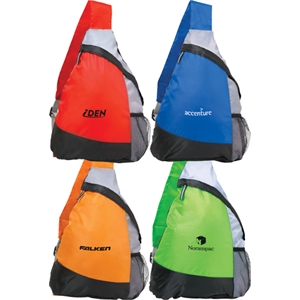 Superlite - Sling Bag With Large Capacity Main Compartment And Zipper Closure