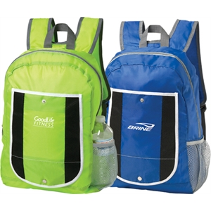 Foldable Backpack Made Of 210 Denier Polyester