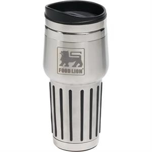 Quest - Stainless Steel 15 Oz Tumbler With Twist Action, Spill Resistant Lid