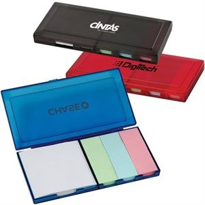 Self Adhering Note Pad Box