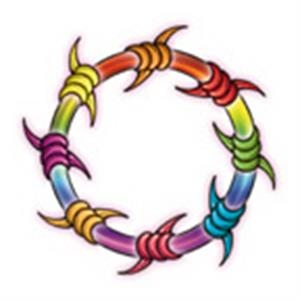 Rainbow Ring, Stock Tattoo Designs