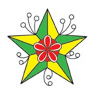Green Star, Stock Tattoo Designs