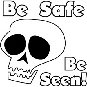 Be Safe Be Seen, Stock Tattoo Designs