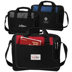 Commerce Day - Briefcase With Velcro Pocket