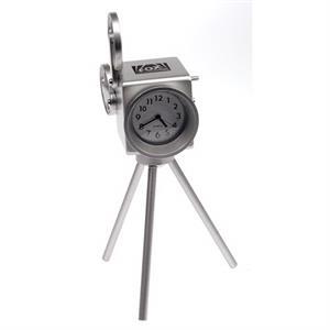 Metal cinema projector clock