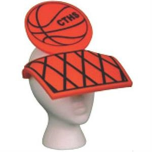 Foam Basketball Design Novelty Visor