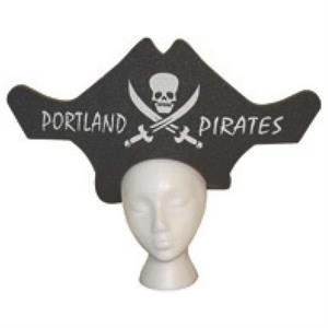 Foam Pirate Visor