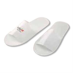 Lightweight Disposable, Non Woven Eco Slippers, Blank, Closeout