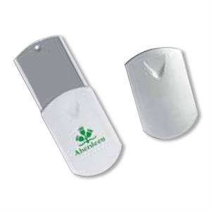 Next Generation Compact Mirror With Sliding Cover And Personal Light, Blank,closeout