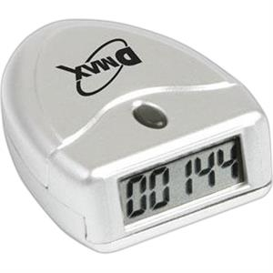 Single Function Pedometer, Batteries Included