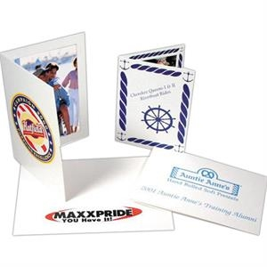 "One Side - Custom Printed Paper Photo Frame And Folders, 5"" X 7"""