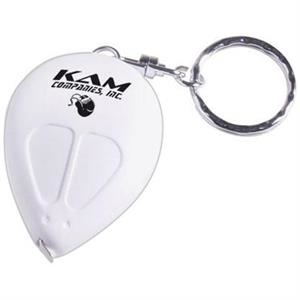 Computer Mouse Shaped Key Ring With 3' Tape Measure