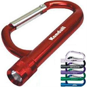 Forged Aluminum Carabiner Flashlight