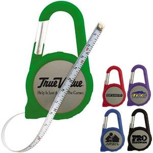Six Foot Carabiner Tape Measure