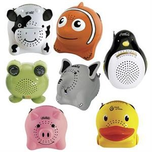 Animal Series - Clownfish - Animal Series Am/fm Radio With Self Storing Telescoping Antenna
