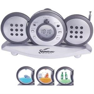 Three Piece Radio With Detachable Speakers