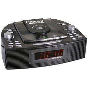 Stereo AM/FM CD alarm clock radio