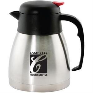 Stainless Steel Vacuum Carafe. Our Newest One-liter (34-oz.), Double-walled