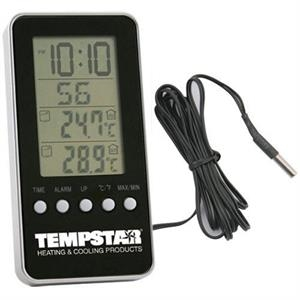 Indoor/outdoor Digital Thermometer Alarm Clock