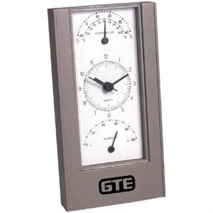 Stand Up Weather Station With Alarm Clock And Easy To Read Dials