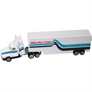 Die Cast Metal 1/87 Scale Moving Truck Model