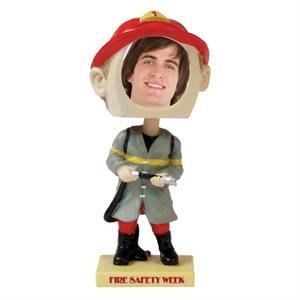 Fireman bobblehead