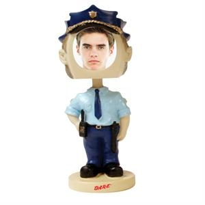 Policeman bobblehead