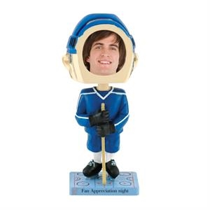 Hockey bobblehead