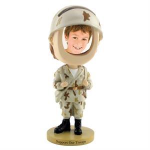 Soldier bobblehead