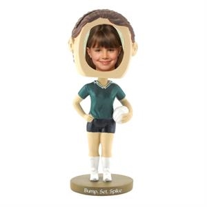 Single Bobble Head (girl's Volleyball)