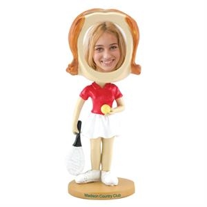Single Bobble Head (girl's Tennis)