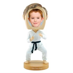 Single Bobble Head (martial Arts)