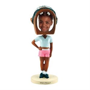 Hip hop girl bobblehead