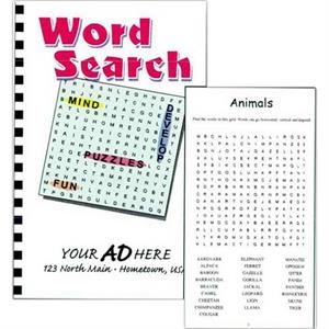 Word Search Puzzle Book With 50 Puzzles And Solutions In The Back