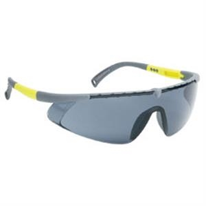 Gray Lens - Gray - Single-piece Lens Safety Glasses