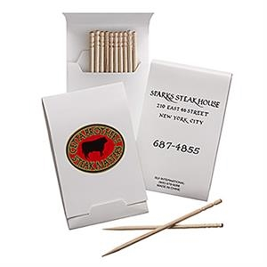 Full Length Toothpick Booklet 10 Pack