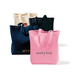 "Navy Blue - All-purpose Tote Bag With 22"" Shoulder Straps"