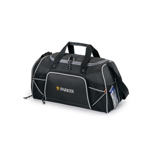 Verve - Black - Sport Bag With Top Grab Handles