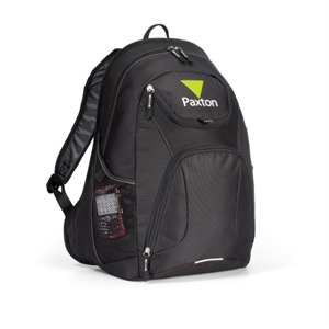 Quest - Black - Computer Backpack With Large Main Compartment And Padded Computer Sleeve